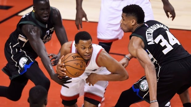 Raptors escape against Bucks to tie series