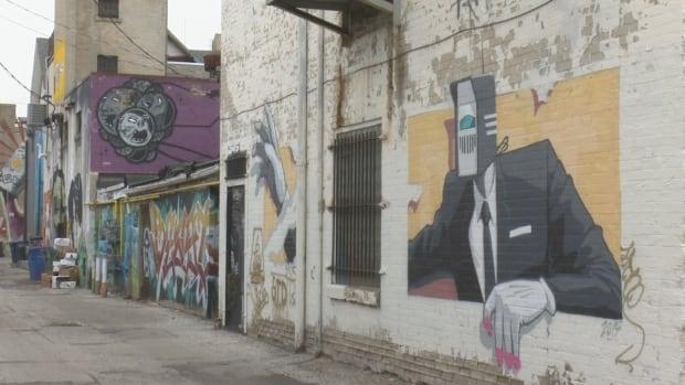 Windsor graffiti