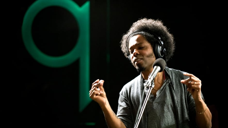 Musician Alex Cuba performing live in the q studios in Toronto, Ont.