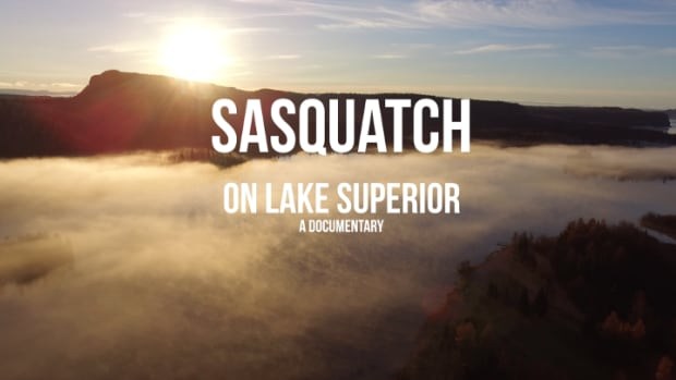 A still from a trailer from an upcoming documentary about Sasquatch sightings in Northwestern Ontario.