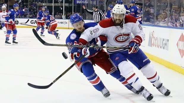 NY Rangers top Canadiens to tie series