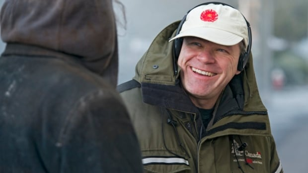 Before his life as a busy restaurateur, Uwe Boll directed 35 films. He is pictured here on the set of Rampage:Capital Punishment.