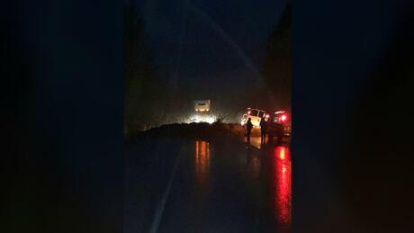 mudslide highway 1 sicamous