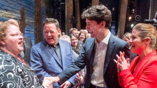 Justin Trudeau at Come From Away