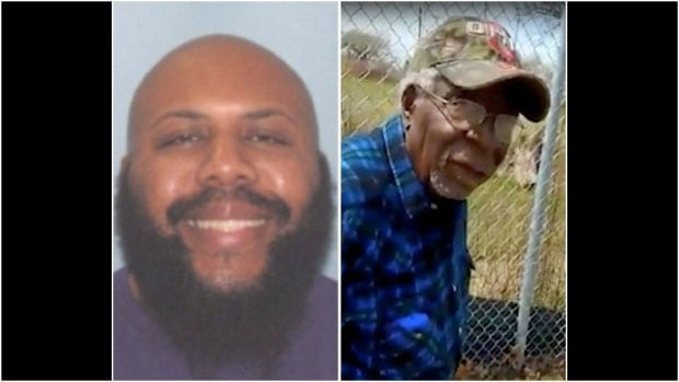 Police say Steve Stephens, left, shot Robert Godwin Sr., right, on Sunday and posted video of the killing on Facebook.