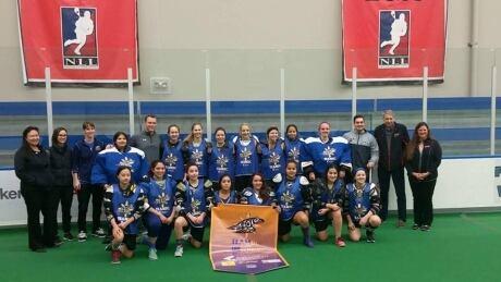 BC Under 19 women's box lacrosse team