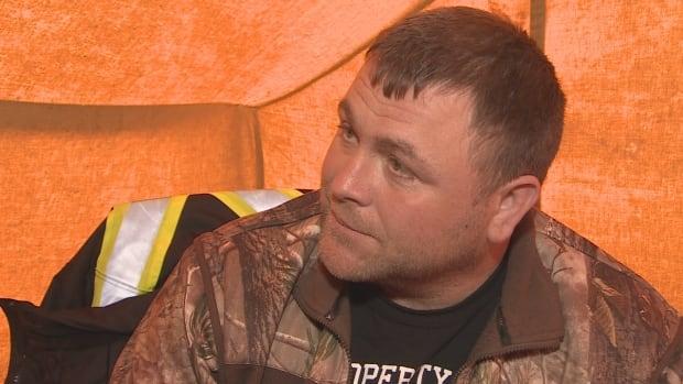 Richard Gillett made headlines in April for holding a hunger strike outside a DFO office in St. John's.
