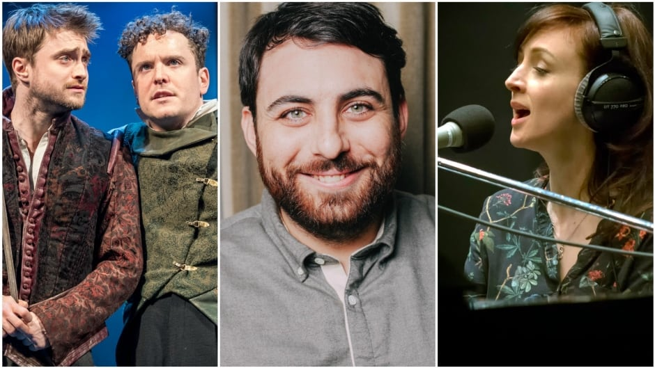 Today on q: Daniel Radcliffe and Josh McGuire, S-Town's Brian Reed and Sarah Slean.