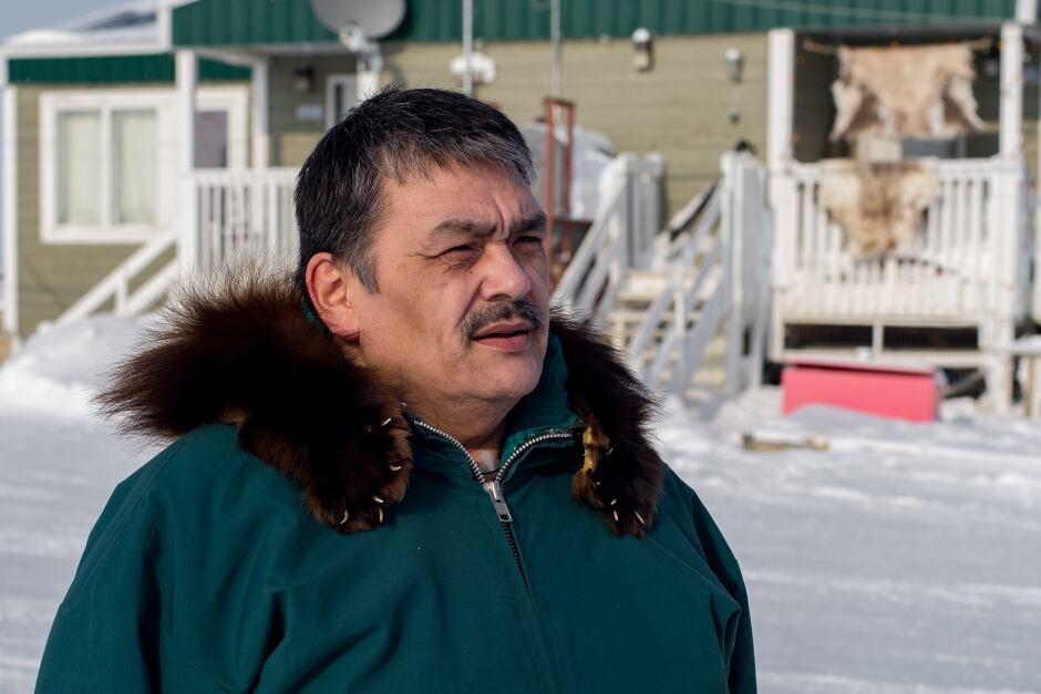 Tuktoyaktuk Mayor Derek Nasogaluak