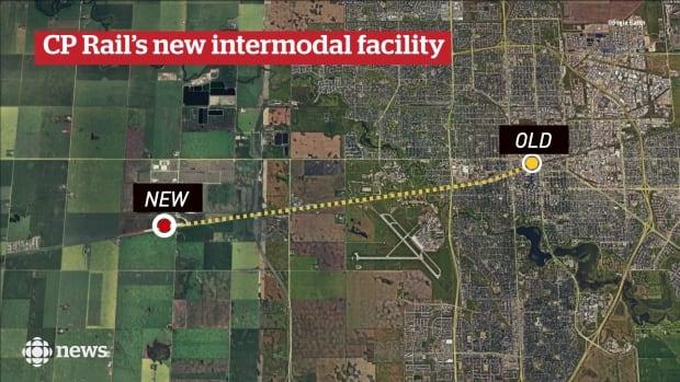 CP Rail new intermodal