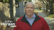 In NDP campaign ad, leader John Horgan claims B.C. Liberals gave billion dollar tax cut to the rich