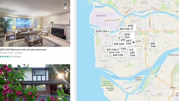 Richmond has over 1,500 short-term rentals listed on Airbnb alone according to an April 19 search.