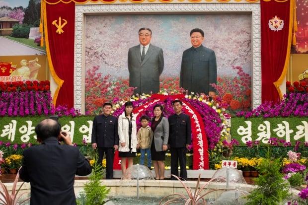 pyongyang family portrait