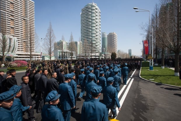 pyongyang construction