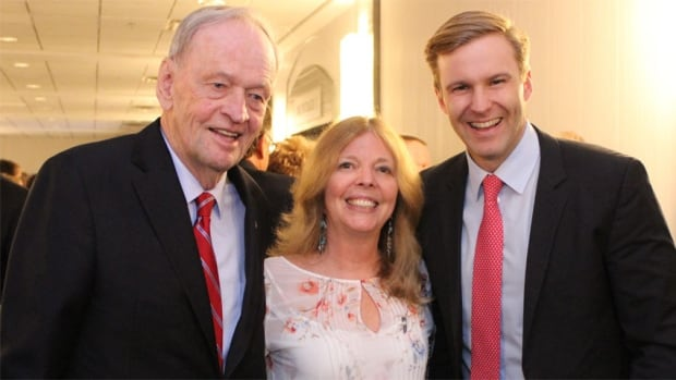 Wendy Robbins joined former prime minister Jean Chrétien and Premier Brian Gallant at a Liberal fundraiser on April 12, just hours before she suffered a brain aneurysm.