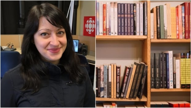 Corner Brook's Krista Conway hopes to raise enough money to buy one new book for each of her 19 students at St. Peter's School in Black Tickle, Labrador.