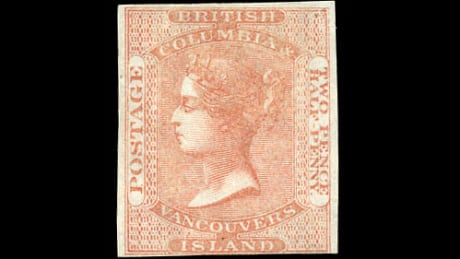 Vancouver Island Stamp