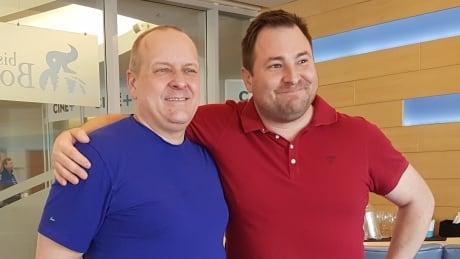 Chris Hrnchiar and Veldon Coburn