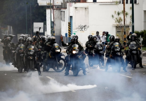 U.S.  'concerned' about Venezuela mass protests after boy, woman killed