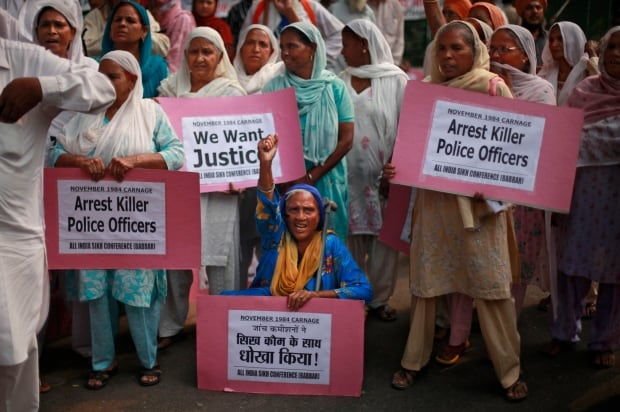 India Sikh Protest
