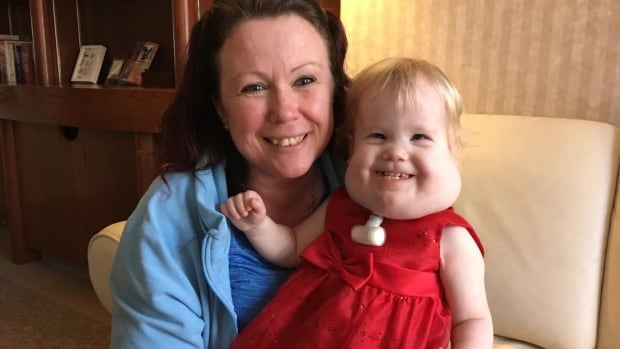 After spending the first two years of her life in hospital, Melanie Finnimore is preparing to bring her daughter Joy home.