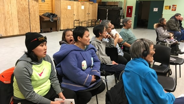 About 50 people attended a meeting in Cambridge Bay, Nunavut, Wednesday night to discuss the possibility of a government-run beer and wine store.