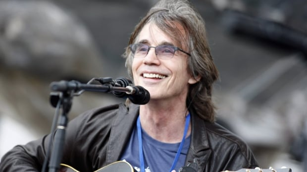 This July 29, 2012 file photo shows Jackson Browne performing at the Newport Folk Festival in Newport, R.I.