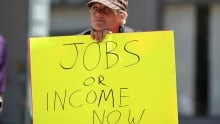 The rise of the anti-establishment - Jobs or Income now
