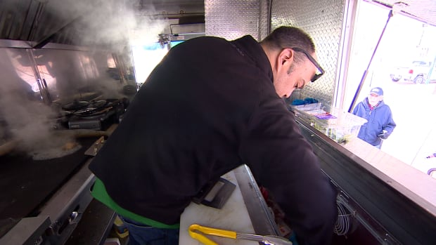 Wes Dennis, who operates one of Saskatoon's newest food trucks, says he's grateful for proposed changes that would extend hours and lower permit prices for food truck operators.