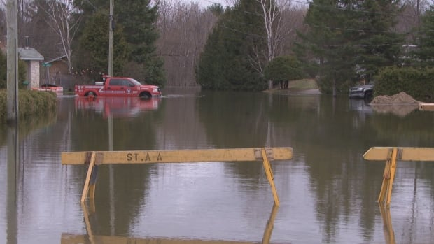The municipality of Saint-André-Avellin, Que., about 80 kilometres northeast of Ottawa, declared a state of emergency on April 20, 2017, due to heavy flooding in the area.