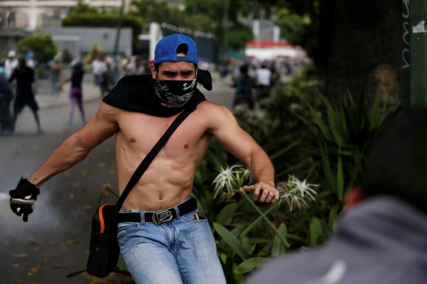 VENEZUELA-POLITICS/PROTESTS