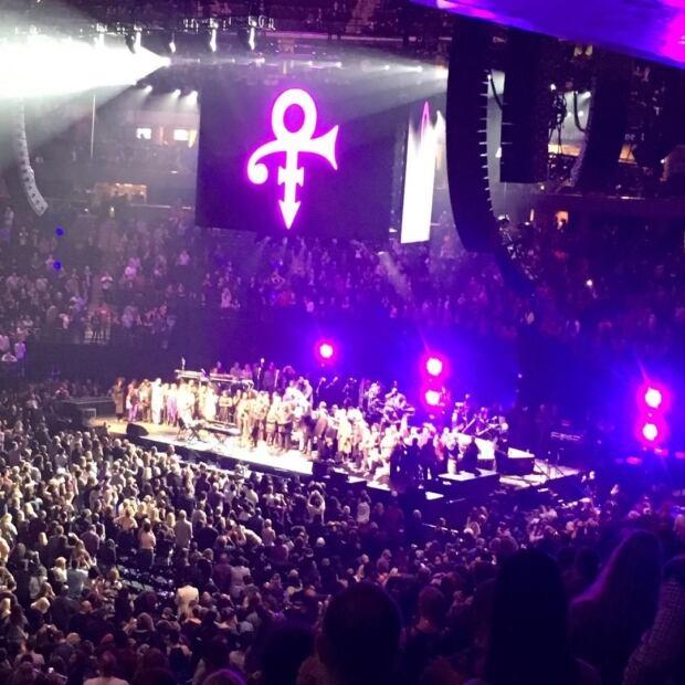 Leslie Paulette prince concert