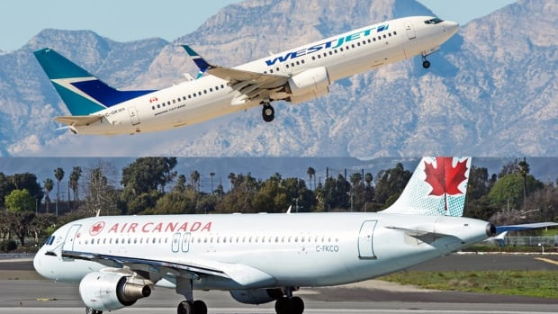 There are multiple union drives underway at WestJet including those by Unifor and CUPE, both currently representing workers at Air Canada.