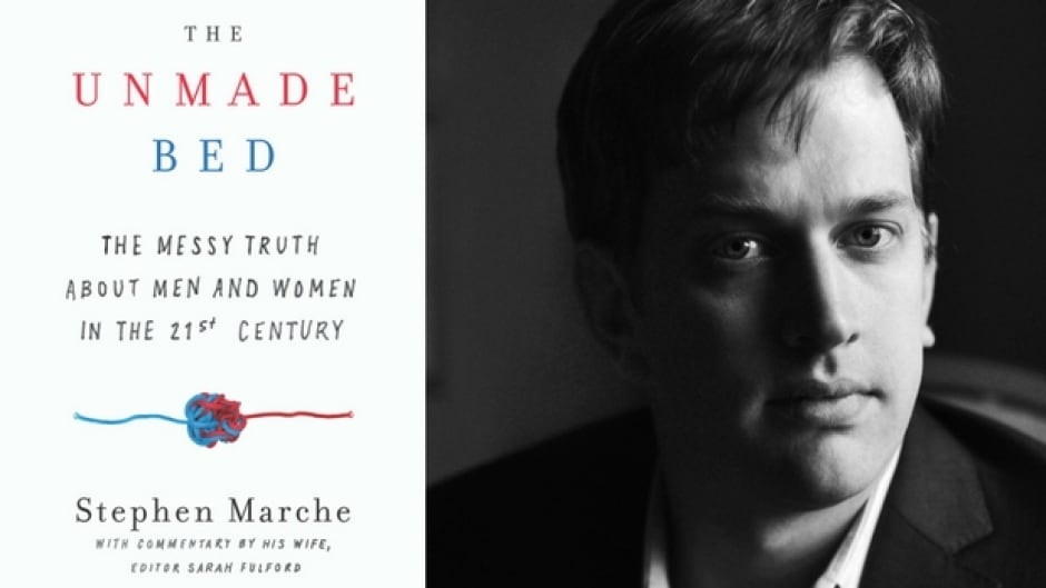 Marche's new book, The Unmade Bed, dives deep into the modern definition of male identity and masculinity.