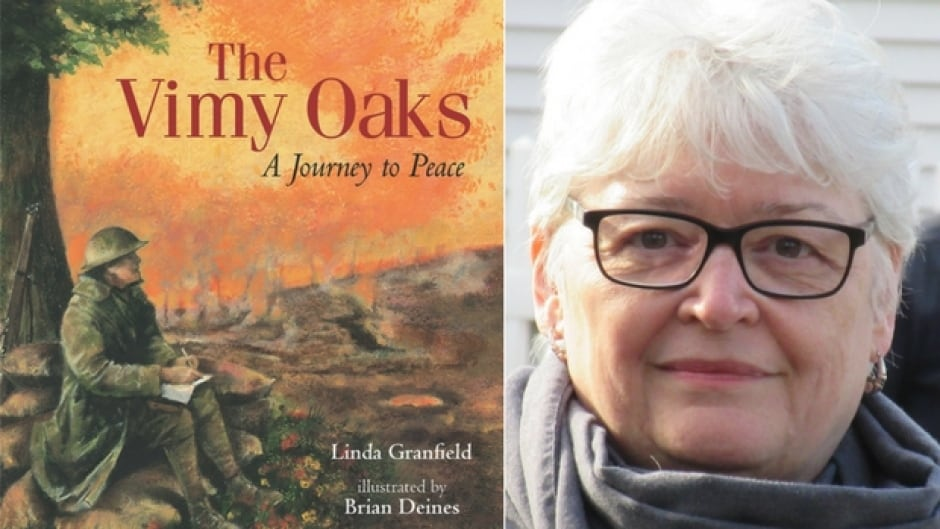 Granfield's latest book is The Vimy Oaks, a picture book that honours Canadian soldiers who fought in the First World War.