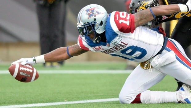 The Argos on Thursday traded for former Alouettes receiver and five-time East Division all-star S.J. Green, who eclipsed the 1,000-yard receiving mark four times with Montreal. He missed most of the 2016 season with a knee injury.