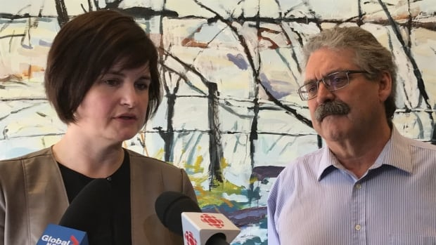 Carla Beck and David Forbes with the Saskatchewan NDP say residents across the province are frustrated with the government's provincial budget decisions.