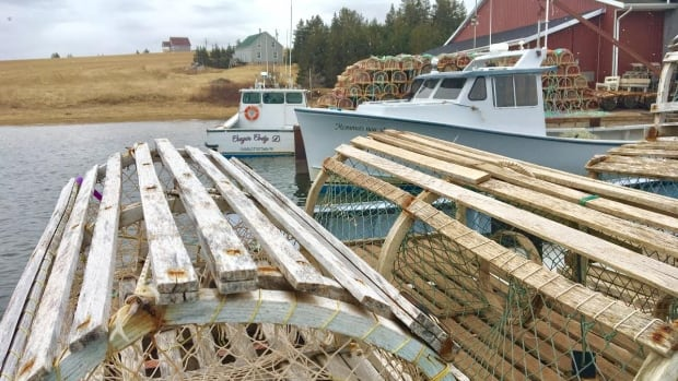 The wharf at French River is quiet right now, but it will a busy place when the spring lobster season begins in less than two weeks.