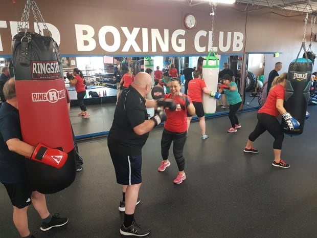 Genevieve Michael Rock Steady Boxing