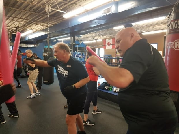Rock Steady Boxing Winnipeg