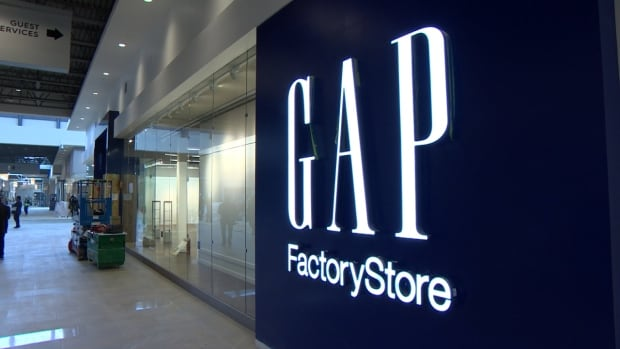 Gap Factory Store at Outlet Collection Winnipeg