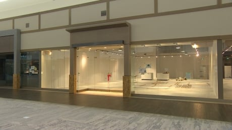 A look inside one of the stores that will open within Outlet Collection Winnipeg on May 3.