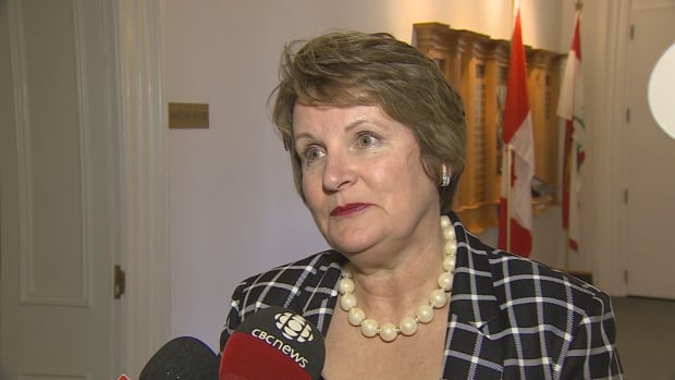 PC MLA Darlene Compton said revenue from carbon pricing should have been included in the provincial budget.