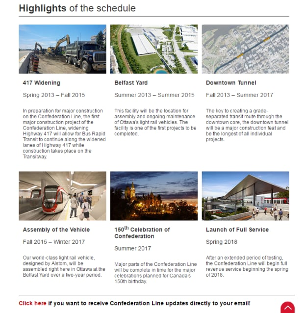 confederation line LRT light rail city ottawa website screenshot