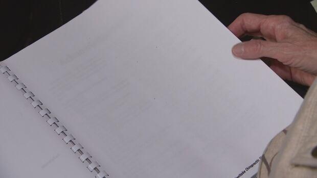 redacted chiropractic report