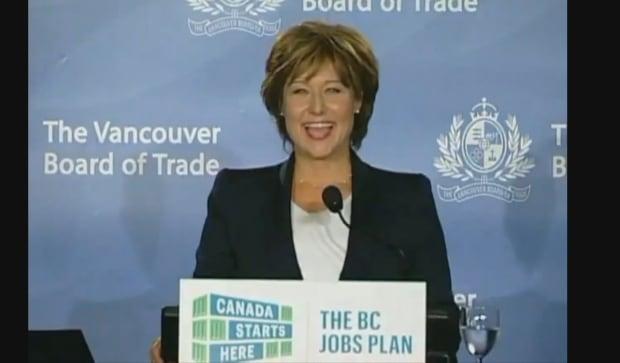 Christy Clark Jobs Plan 2011