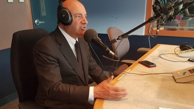 Kevin O'Leary made the comments during an interview on CBC Manitoba's Up to Speed Thursday.