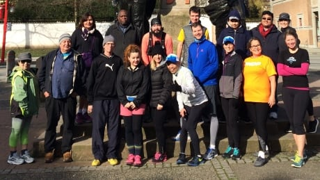 Downtown Eastside running group takes on the Sun Run