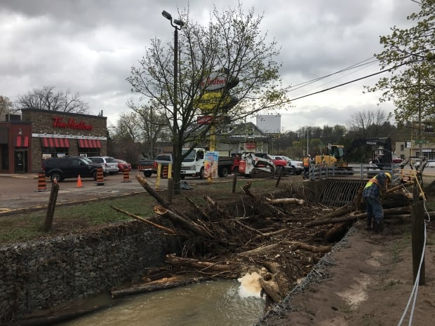 Dundas flood cleanup
