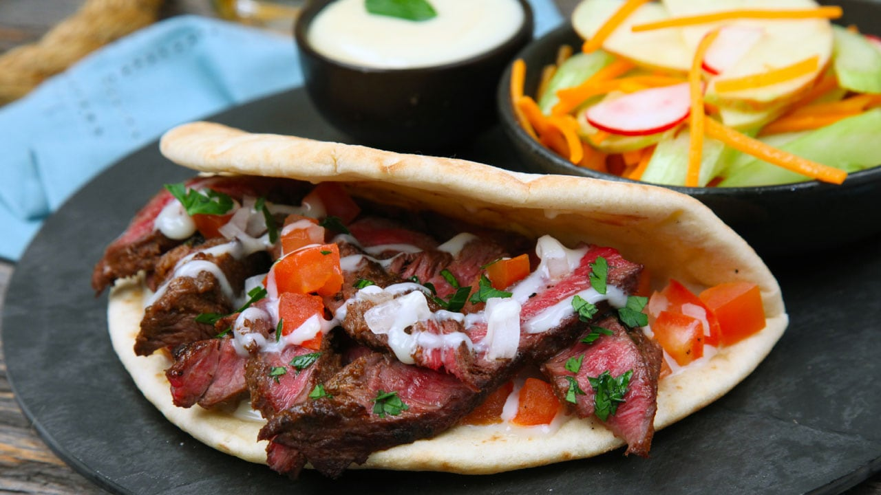 Recipe Shahir S East Coast Donair Dinner Cbc Life